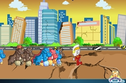 Ultraman vs monsters